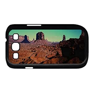 Desert Canyon Watercolor style Cover Samsung Galaxy S3 I9300 Case (Desert Watercolor style Cover Samsung Galaxy S3 I9300 Case)