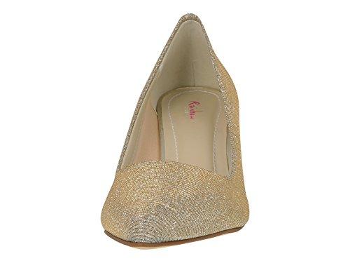 Club Arc-en-brautschuhe Brooke - Pompes, Ivoire / Or Métallique, Chaussures De Mariage, Les Ventes Penny Ivoire / Crème / Or Métallique