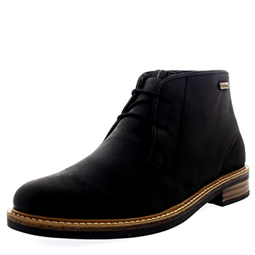 Barbour Mens Readhead Office Smart Ankle Shoes Leather Chukka Boots - Black - 9.5 ()