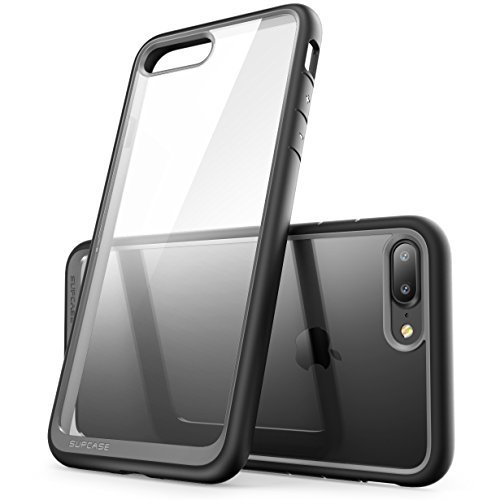 Supcase Unicorn Beetle Hybrid Scratch Resistant Clear Bumper Case for Apple iPhone 7 Plus - Black