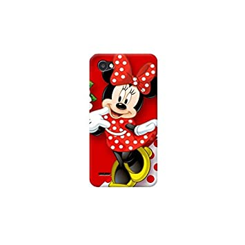Funda Carcasa Cover TPU para Todos los Modelos de Apple iPhone x 8 7 6 6 Plus 5 5s 4 4s 5c si - D34 Minnie, EL iPhone 6 Plus