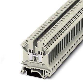 DIN Rail Terminal Blocks UK 5 N BG: Amazon com: Industrial