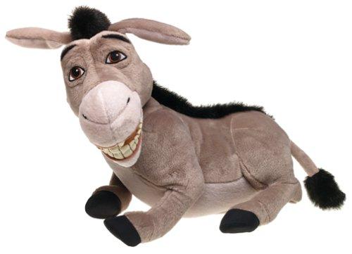 """Amazon.com: Shrek 2: Wise Crackin' Donkey Interactive 14"""" Plush: Toys & Games"""