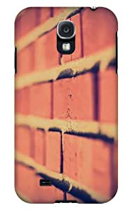 Case Fun Samsung Galaxy S4 (I9500) Case - Vogue Version - 3D Full Wrap - Brick Road