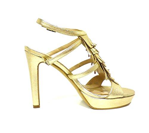 Bruno Premi  F2903P laminato oro, Chaussures à brides femme