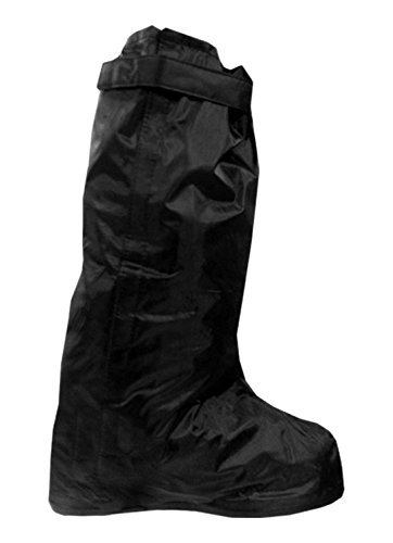 Hot Leathers Waterproof Boot Cover (Black, Large)