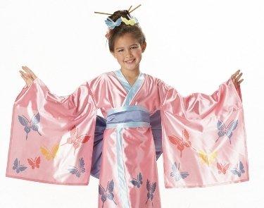 Girls Kids Costume Asian Japanese Geisha Kimono Outfit  sc 1 st  Amazon UK & Girls Kids Costume Asian Japanese Geisha Kimono Outfit: Amazon.co.uk ...