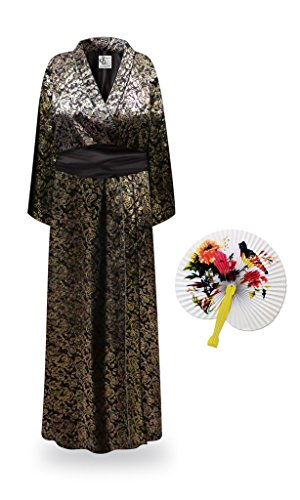 Paisley Geisha Robe Plus Size Supersize Halloween Costume - Basic Kit 6x/7x -