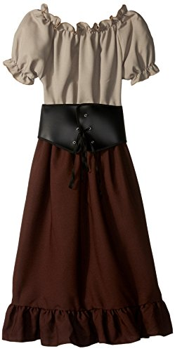RG Costumes Renaissance Peasant Girl, Child Medium/Size 8-10