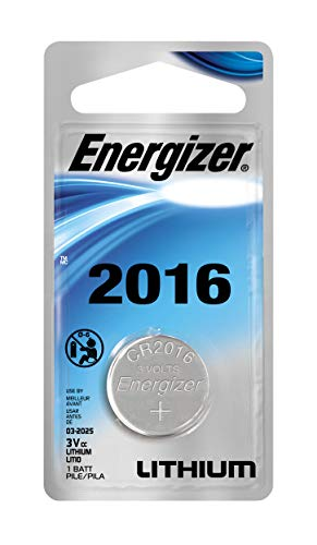 (Energizer Lithium Coin Watch/Electronic Battery 2016, 2-Count)