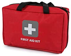 Looking for a complete solution to your First Aid needs? Then Look No Further!   What Makes the THRIVE First Aid Kit Different? ✓ DESIGN  - Crafted from durable rip-stop nylon and vinyl fabric. Lightweight, compact and yet still holds everyt...