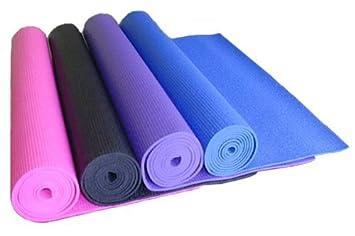 Amazon.com : Sticky Yoga Mat 4mm Thick - Purple : Sports ...