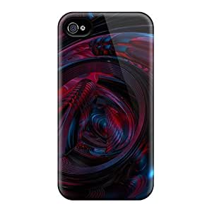 Iphone 4/4s Case Slim [ultra Fit] 3d Abstract Protective Case Cover