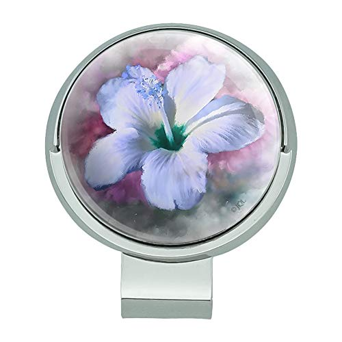 Hawaiian Golf Ball - GRAPHICS & MORE Tropical Blue Hibiscus Hawaiian Bloom Golf Hat Clip with Magnetic Ball Marker