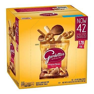 Gardetto's Original Recipe Snack Mix, 1.75 oz Each - SP 1 Pack ( 42 Bags ) ()
