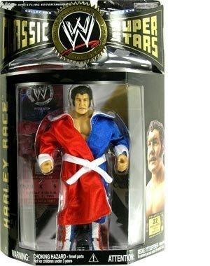 - Jakks Pacific WWE Wrestling Classic Superstars Series 10 Harley Race Action Figure