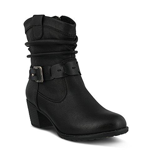 Spring Step Women's Biddy Slouch Boot, Black, 37 EU/6.5-7 M US