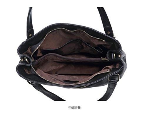 Capacidad Gran Bolso Nueva Hombro GWQGZ De Bolso Bolsa Moda Solo Simple De Sesgado Spanning Mano Señoras Elegante I0Xw0
