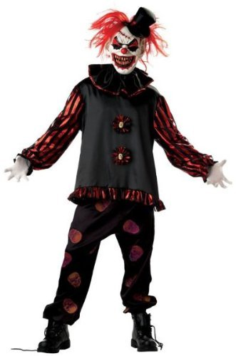 2 Year Olds Halloween Costumes Uk (Carver The Killer Clown Mens Halloween Costume [Available Sizes : Mens up to a 42 chest] by Jokingaround)