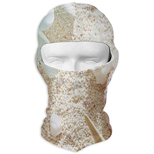 Balaclava Trendy Summer Beach Shell Full Face Masks UV Protection Ski Hat Sports Cap Motorcycle Neck Warmer Hood for Cycling Snowboard Women Men Youth