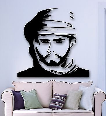Wall Stickers Vinyl Decal Man Arabic Bedouin Islam Room Decor VS1761