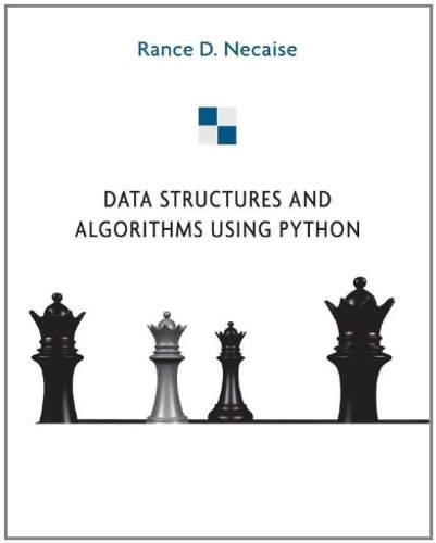 Download Data Structures and Algorithms Using Python Pdf
