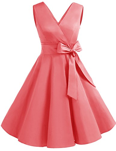 bridesmaid dresses by color pink - 9