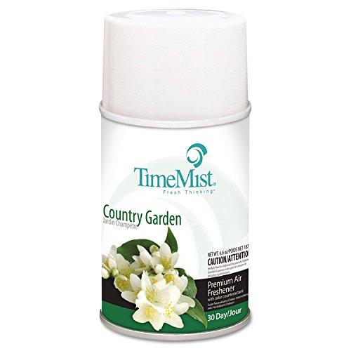 ''Metered Fragrance Dispenser Refills, Country Garden, 6.6oz, 12/Carton''