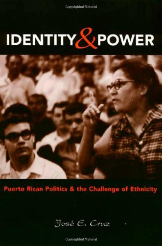 Identity And Power: Puerto Rican Politics and the Challenge of Ethnicity (Politics, Society; 27)