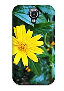 Everett L. Carrasquillo's Shop 7636739K62932531 For Galaxy S4 Premium Tpu Case Cover Yellow Flowers Protective Case