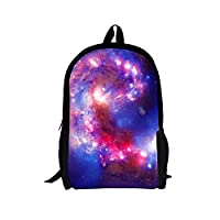 Freewander Customized Galaxy Pattern Backpacks Children Back to School Book Bags