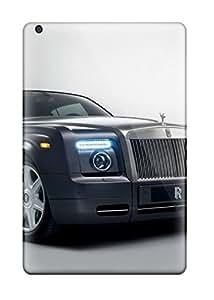 Hot 2488490I66928296 Ipad Case - Tpu Case Protective For Ipad Mini- Rolls Royce