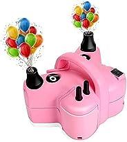 Air pump electric balloon pump portable pump double nozzle pink butterfly air pump 110V electric balloon blowi