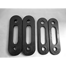 Set of 4 Soloflex Replacement Weight Straps - 70lbs Total