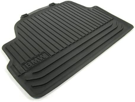 BMW All Weather Rear Rubber Floor Mats 128i /& 135i Coupe Black 2008 onwards
