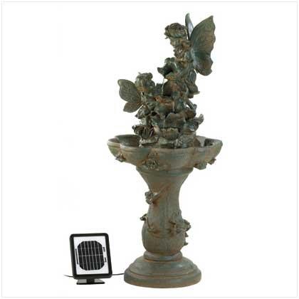 Fairy Solar Water Fountain ()