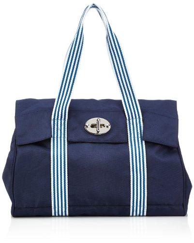 Sansibar Sambal - Bolsa de la compra de material sintético mujer Azul - Blau (Navy)