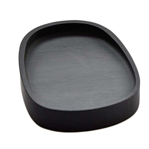 Inkstone Five-inch Round Inkwell Inkstone Inkstone Calligraphy Class Four Treasures Gift Ink Decoration Home Decoration Christmas Gifts by GHGJU