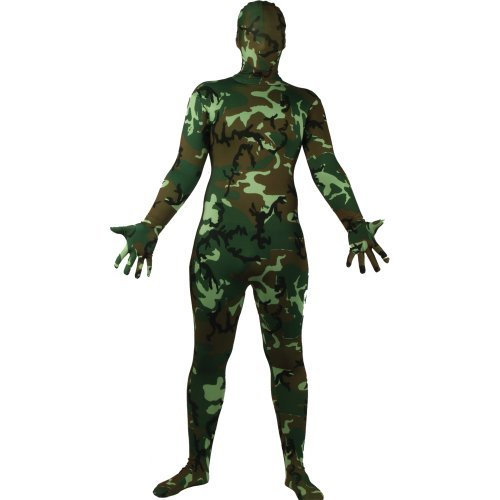 Bodysuit Skinz Lycra Fancy Dress Skin Adult Costume NEW 8...