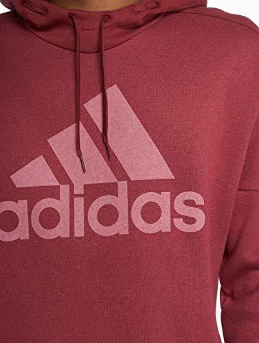 Lgo Fl Marrone Felpa Adidas melange Nobile Rosso M Uomo Sid Po q1WIE8