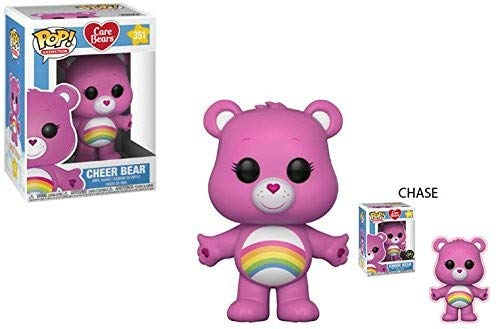 Funko POP! Animation: Care Bears Cheer Bear (Styles May Vary) Collectible Figure, Multicolor -