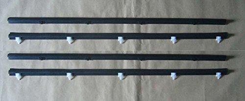 Motorstorex Weatherstrip Assy Door Belt Rubber Front Door Outer & Inner Left & Right for Toyota LN50 RN55 LN56 RN70 RN57 YN56 Pickup Truck