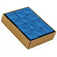 Gawin Club Pool Chalk 12 PCS Blue
