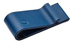 Carbon Fiber Minimal, Thin, Light Moneyclip, Wallet, Card holder [Blue] Gentleman's Perfect Item