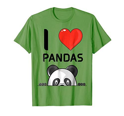 f8a737dc3bc5fc I love panda s tees le meilleur prix dans Amazon SaveMoney.es