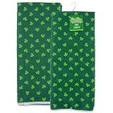 St. Patrick's Day Shamrock Towels Set of 2