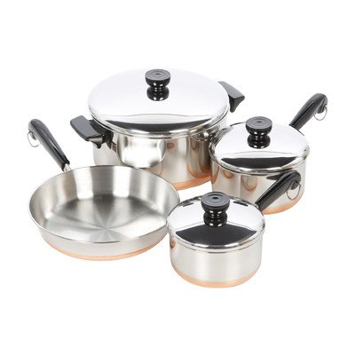 1400 Line Stainless Steel 7 Piece Cookware Set (Henkels Stainless Steel Cookware compare prices)