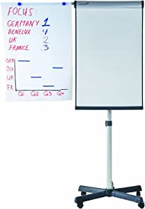 Rotafolio universal, triángulo móvil 60 x 72 cm, 3 kg, 68 x 105 cm, antracita