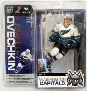 McFarlane Toys 6 NHL Series 13 - Alexander Ovechkin White Jersey by McFarlane