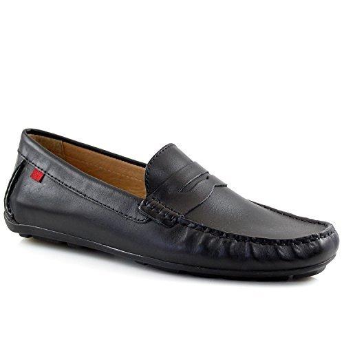 MARC JOSEPH NEW YORK Men's Union Street Black Napa Leather Loafer 9
